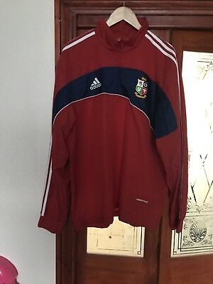 Men's British Lions Rugby Training Wind Cheater Top  size XL