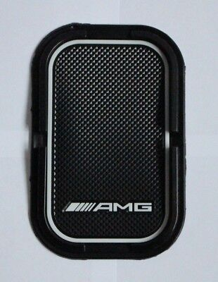 Mercedes Bens AMG Anti Slip Mat Mobile Phone Holder Navigation Car Rubber Pad
