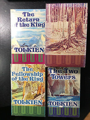 Lord of the Rings Paperback Set, UNWIN Books with Sleeve J.R.R. Tolkien 1974