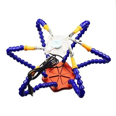 6 Flexible Arm Helping Hands Clip Soldering Station Part for FPV Workstation