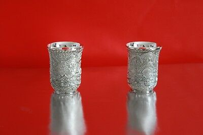 Exclusive silver coated glass pair/Perfect gifting iteam