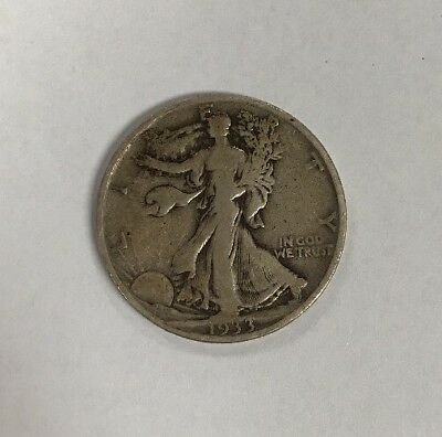 1933-S Walking Liberty Half Dollar - 90% Silver