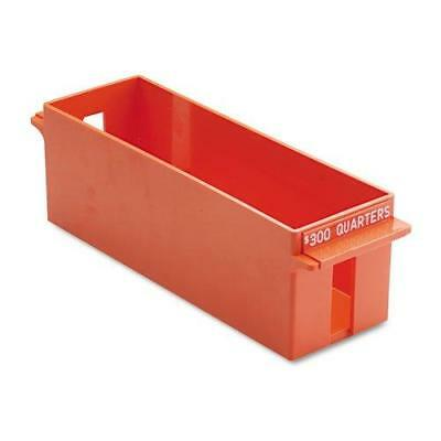 MMF Industries Porta-Count Extra-Capacity Rolled Coin Quarter Storage Tray, 3.38