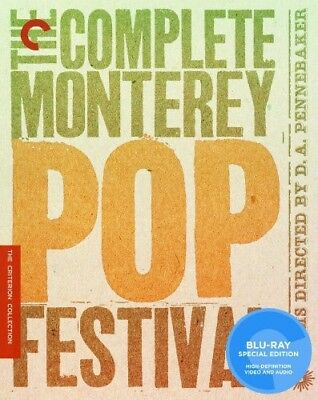 Complete Monterey Pop Festival [Criterion Collection] (Blu-ray Used Like New)