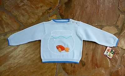 NEW Hand Knit Zubels Goldfish Sweater Wholesale Lot 13 pieces