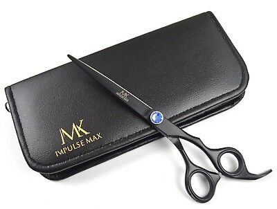 "7"" Professional Hairdressing Scissors Barber Salon Haircutting Shear Black Sharp"