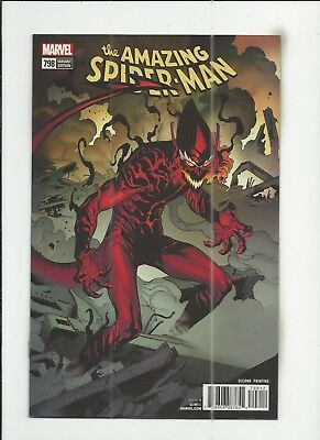 Amazing Spider-Man #798 2nd Print Variant Cover very fine+ (VF+) condition