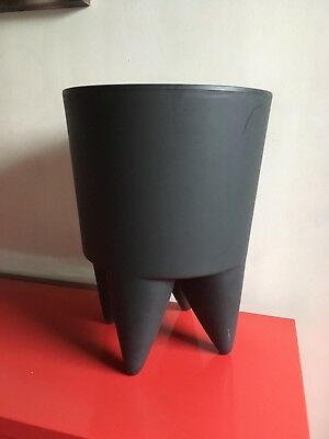 Authentique Tabouret Bubu Xo Design Philippe Strack Home Deco Gris Anthracite