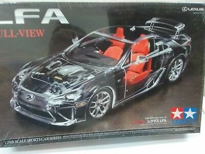 TAMIYA LEXUS LFA FULL VIEW FACTORY SEALED INCL PHOTOETCH Parts