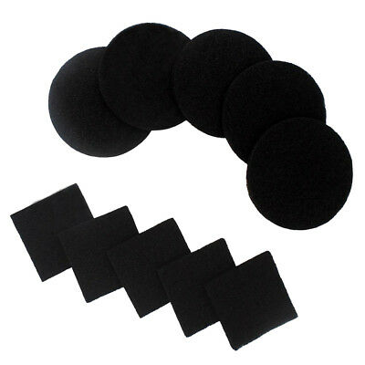 10 Pieces Activated Carbon Compost Bin Filter Refill Round and Square