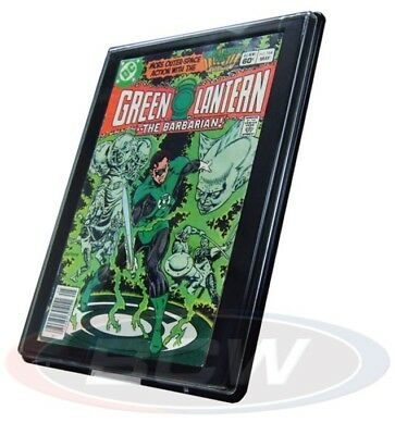 (2) Bcw Current Age Comic Book Showcase Wall Mountable Display Frame Holders