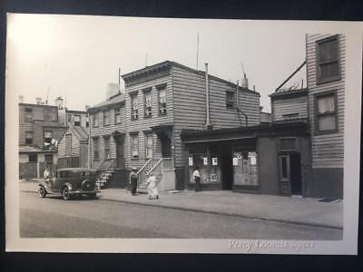 1934 Tobacco Shop Gold & Sands St Brooklyn New York City Old NYC Photo T175