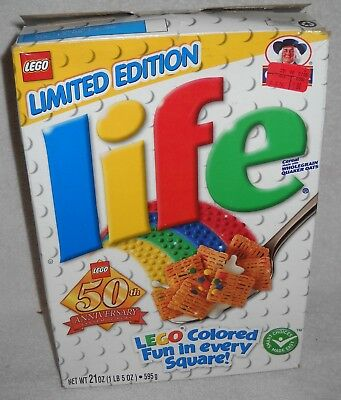 #9794 Quaker Oats 2005 Limited Ed. LIFE Cereal LEGO 50th Anniversary BOX ONLY