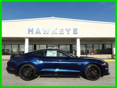 Ford Mustang GT 2018 GT New 5L V8 32V Manual RWD Coupe Premium