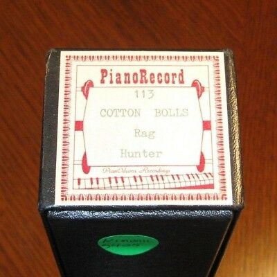 Cotton Bolls Rag Recut Piano Roll 0618