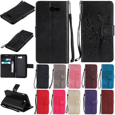 For Samsung Galaxy J7 V /J7 Prime /Sky Pro / Perx Wallet Leather Pouch Flip Case