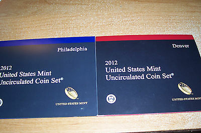 2012 Us Mint Uncirculated Set - 10% Off When You Buy 3 Or More