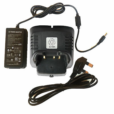 VAC-300 CD-34 Li-ion Charger Power Supply for Vertex FNB-103L FNB-104L Radio