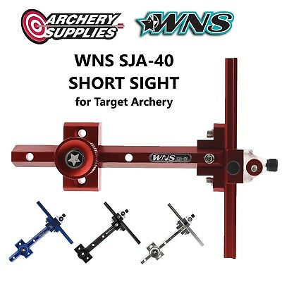 WNS SJA-40 SHORT SIGHT for Recurve Target Archery - Right Hand - Red