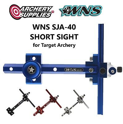 WNS SJA-40 SHORT SIGHT for Recurve Target Archery - Right Hand - Blue