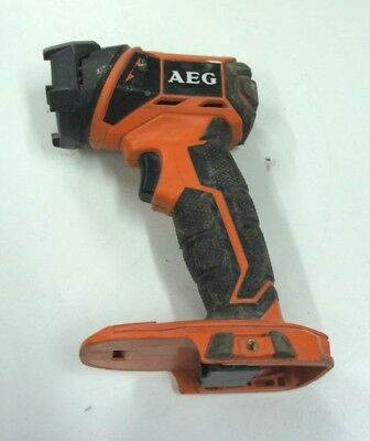 AEG 18V Compact LED Torch FL18  (Skin Only)  Bids From $1.00