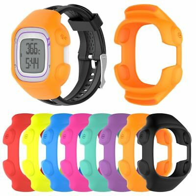 Silicone Protective Case Cover Frame Shell for Garmin Forerunner 10/15 GPS Watch