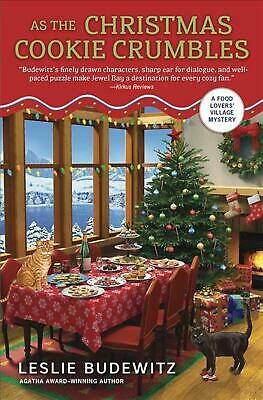 As the Christmas Cookie Crumbles by Leslie Budewitz Paperback Book Free Shipping