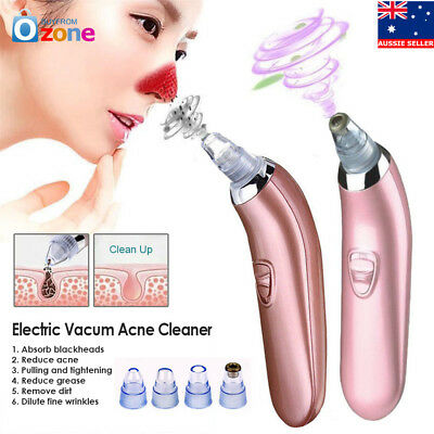 New Electric Skin Facial Cleanser Care Blackhead Vacum Acne Cleaner Pore Remover