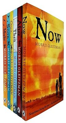 Morris Gleitzman Collection 6 Books Set Once Now After Soon Maybe NEW