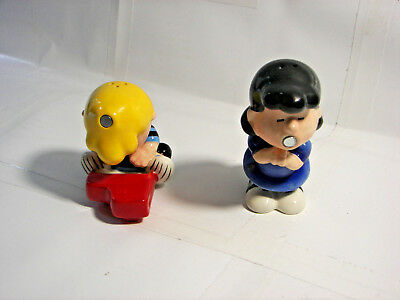 Westland - Peanuts: Lucy & Schroeder Magnetic Salt and Pepper Shakers