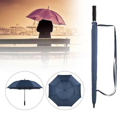 TOMSHOO 61 Inch Oversized Automatic Auto Open Golf Umbrella Outdoor Extra O5H9