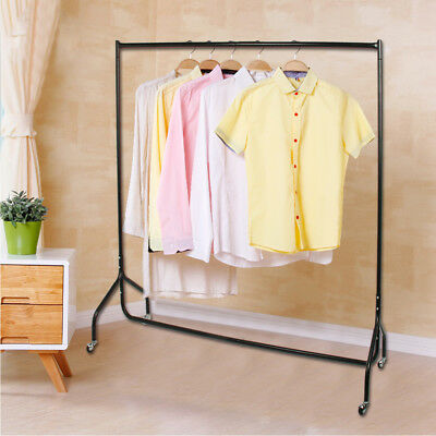 NEW 4ft Garment Clothes Rail Super Heavy Duty Shop Dress Display All Metal