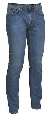 Jeans Uomo Ragazzo Denim Slim Fit 5 Tasche Zip Bottone Gas Art. 92814 Albert