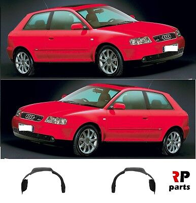 New Audi A3 Front Wing Splashguard Wheel Arch Liner Trim Cover 96 - 03 Pair L+R
