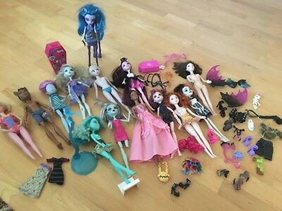 XXL Set Monster High Gaaanz Viel Zeug
