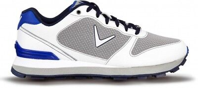 Callaway Chev Vent Herrenschuhe, white/grey/blue