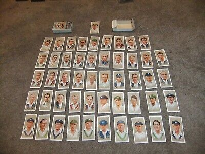 Rare  1934  Cricket  Cards  Boxed  John  Players  Complete