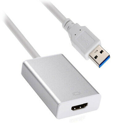 USB 3.0 & 2.0 to HDMI HDTV Adapter Cable External Graphics Card for windows PC