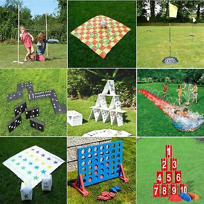 Gr8 Garden Giant Games Outdoor Activity Beach BBQ Childrens Kids Family Party