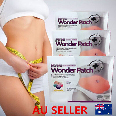 10 Pcs Wonder Slimming Patch Abdomen Weight Loss Fat burning Wing Slim Body Nice