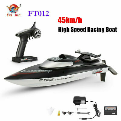FeiLun FT012 2.4G 50 km/h RC Boat High Speed Brushless Motor Wireless Remote