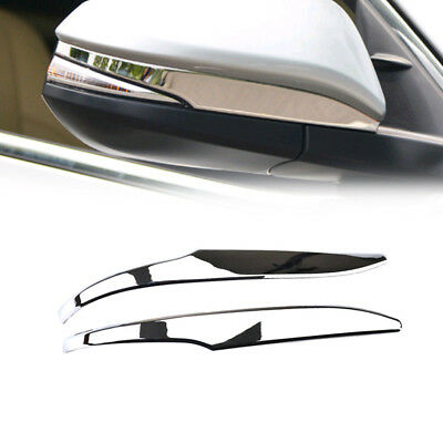 For Toyota Highlander 2014-2018 Chrome Rear View Side Mirror Cover Molding Trim
