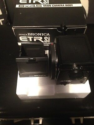 ZENZA BRONICA ETRSi COMPLETE CAMERA SET WITH ORIGINAL BOXES AND PACKAGING