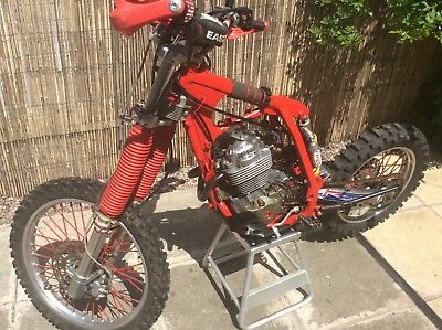 Honda xr400r engine and frame