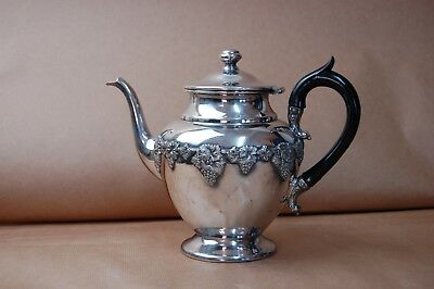 Antique silver plated teapot by William Rogers . Hamilton Canada