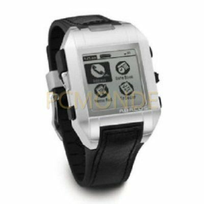 Collectible Item: Fossil Abacus AU5005 Wrist PDA with Palm OS - Black