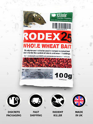 Pest Expert Formula 'B' Rat Killer Poison 100g (Professional Strength) Free P&P