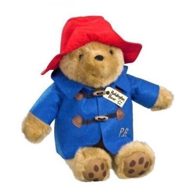 Classic Paddington Bear Sitting 21Cm Plush Brand New Great Gift Soft Toy