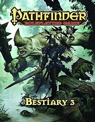Pathfinder Roleplaying Game: Bestiary 3,HC,Wayne Reynolds, Jason Bulmahn - NEW