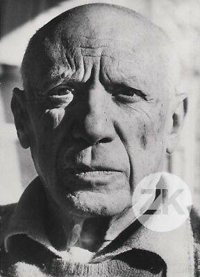 PABLO PICASSO Peinture Photographie Cecil BEATON Photo 1960s